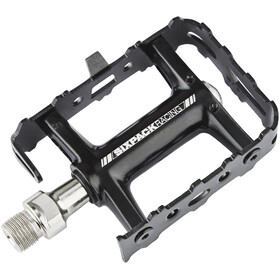 Sixpack Travel Pedals black
